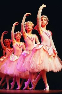 ballet students showing their potential