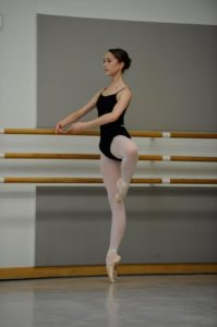 Jeanette Kakareka San Francisco Ballet School anxiety
