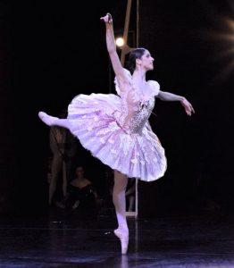ballerina on stage